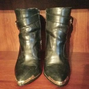 Boots handcrafted for Steampunk style